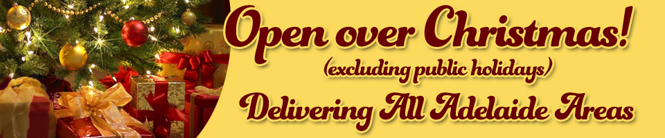 Churchill Court Catering are open over Christmas 2014 for Adelaide Food Truck and Catering Services (excluding public holidays).
