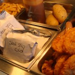 Delicious hot food from Churchill Court catering Snack Bar