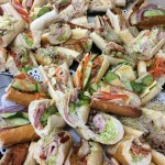 Finger food platters from Churchill Court Corporate Catering