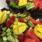 Fruit platters from Churchill Court Corporate Catering